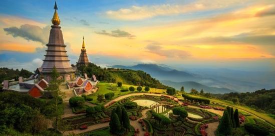 Doi Inthanon Stupa