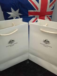 Australian Consulate - Lamingrons & Australiana from the Embassy