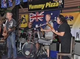 The band at play