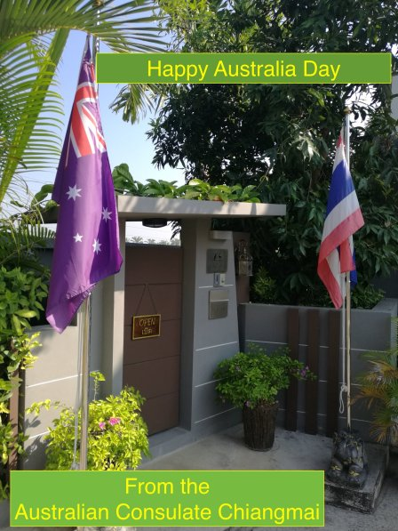 Aus Day Consulate