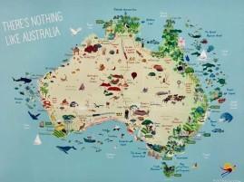 Aus Map