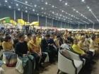 A large gathering